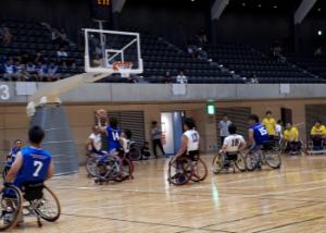 車椅子バスケットボール大会