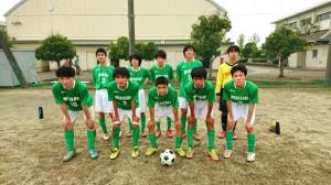 所沢学習センターサッカー部集合写真